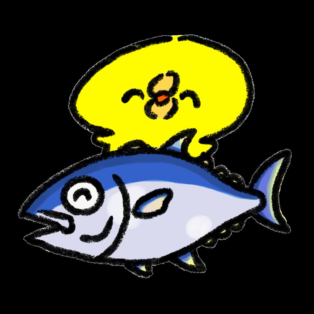 maguro-hiyoko